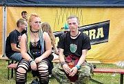 Punkový festival v Brněnci