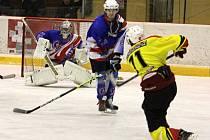 Hokejisté Poličky porazili na domácím ledě Litomyšl.