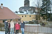 Senátor Radko Martínek navštívil hrad Svojanov.
