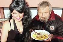 Naďa Mašková s panem Milošem.