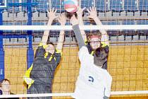 Z utkání svitavských juniorů proti liberecké Slavii. Domácí hráči vybojovali jedno vítězství.