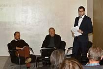 O setkání a diskusi se starostou a místostarostou nebyl mezi občany velký zájem.