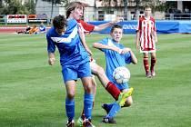 Fotbalová Česká liga U15: Svitavy – Viktoria Žižkov.