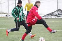 Z utkání Jiskra Litomyšl vs. FK Proseč (7:4).