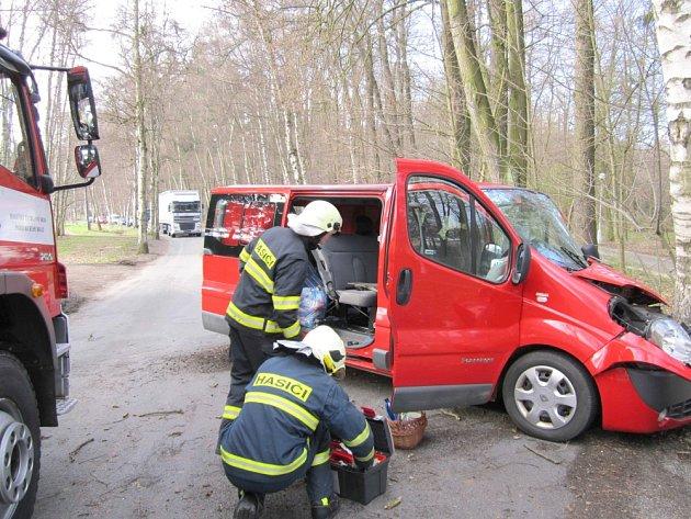 Fotografie z nehody.