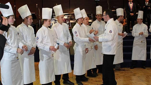 Finále nejprestižnější kuchařské soutěže Kuchař roku.