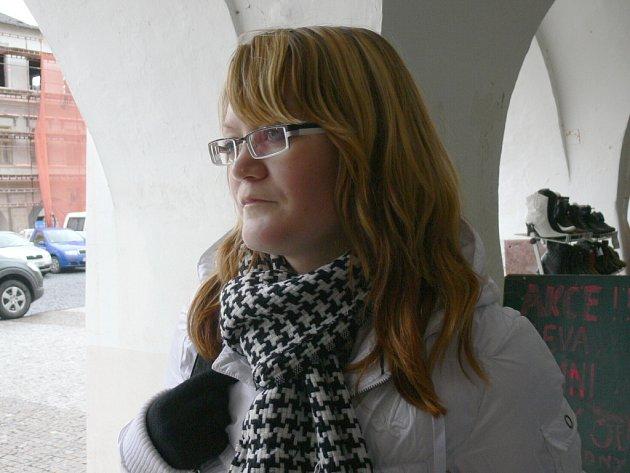 Michaela Zahálková, 18 let, studentka, Svitavy