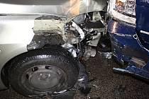 Nehoda na silnici I/35.