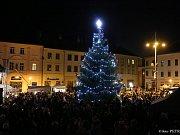 Rozsvěcení vánočního stromečku v Moravské Třebové
