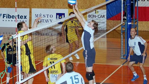 Ve volejbalovém derby zvítězilo na svitavské palubovce družstvo z Litomyšle.