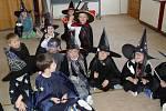 Čarodějnice v mateřské škole ve Svitavách.