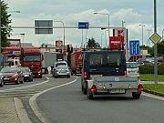 Dopravní nehoda dvou osobních automobilů ve Svitavách.