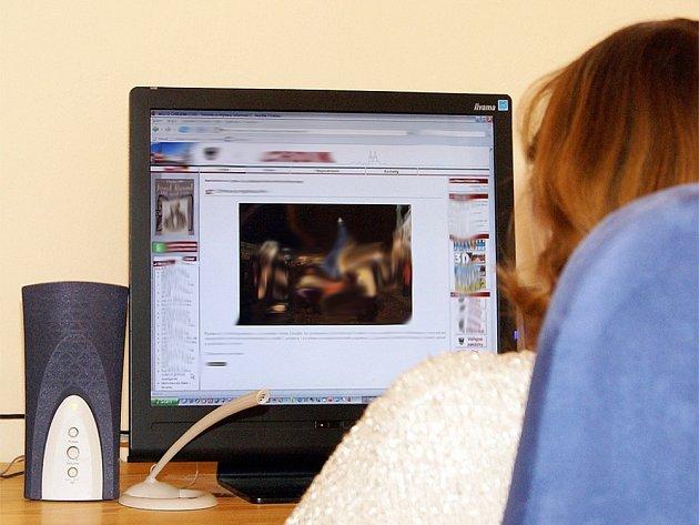 Online přenos. Ilustrační foto