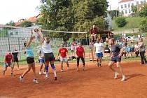 Rodinná družstva se utkala ve volejbalu