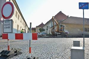 V Litomyšli ve středu vypukla rekonstrukce silnice na Českou Třebovou.