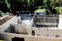 Přestavba tzv. dětského pavilonu v jevíčském sanatoriu.
