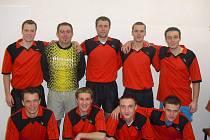 Někteří hráči, kteří se podíleli na titulu pro VPS Novabrik B, se představili i v dresu áčka v celostátní lize.
