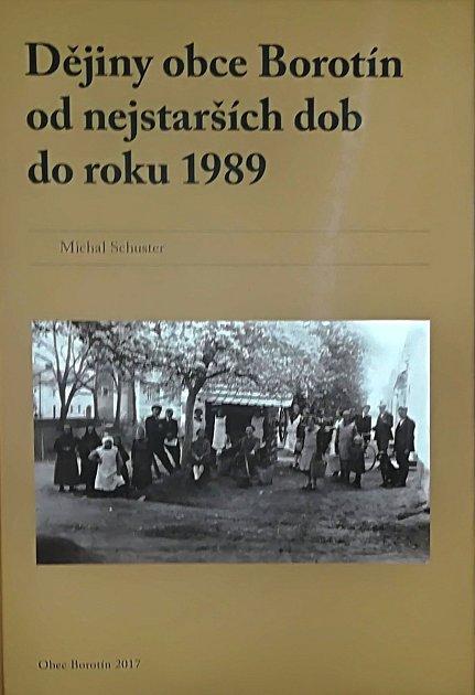 Nová publikace ohistorii Borotína na Malé Hané.