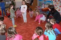 Děti ve svojanovské mateřské skole.