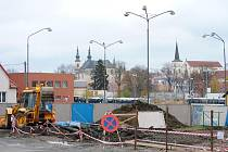 Stavba nové administrativní budovy v Litomyšli začala.