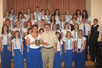 Pěvecký sbor Kantiléna na zájezdu po Evropě