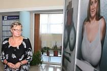 Naděžda Tomčíková převzala v Ostravě šek pro stavbu pomníku v místě tragédie u Studénky.