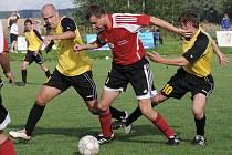 Svitavští fotbalisté remizovali s lídrem krajského přeboru ze Živanic.