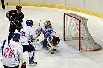 Závodní hokejová sahala v Litomyšli po překvapivém výsledku, domácí ale v nepohledném utkání ztrátu nedovolili.