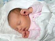 NELA KRYSTÝNKOVÁ. Narodila se 29. května Markétě z Poličky. Měřila 48 centimetrů a vážila 3,3 kilogramu. Má bráchu Patrika.