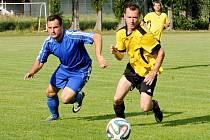 Místo očekávaného postupu utržili svitavští fotbalisté na hřišti Srubů políček.