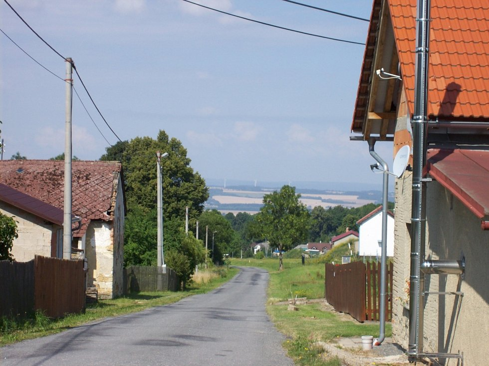 Horní část Kamenné Horky.