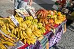 Africké trhy ve Svitavách.
