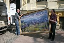 Přátelé Františka Stážnického iniciovali výstavu akademického malíře v Moravské Třebové.