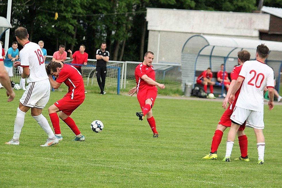 Jiskra Litomyšl vs. FK Letohrad.
