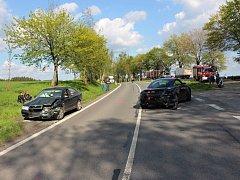 Nehoda u Borové.