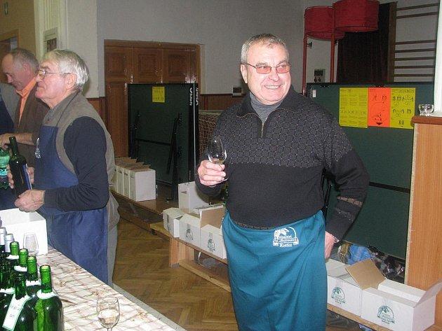 Vinař Jaroslav Tuček.