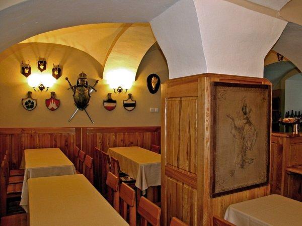 Hradní restaurace.