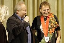 Zdeněk Sendler (vpravo) se ujal funkce zahradního architekta v Litomyšli. Jeho angažování vzešlo z vůle místostarosty Michala Kortyše.