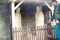 Betlém v Budislavi vzniknul u kostela ve skále.