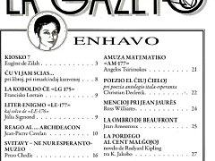 Časopis pro esperantisty.