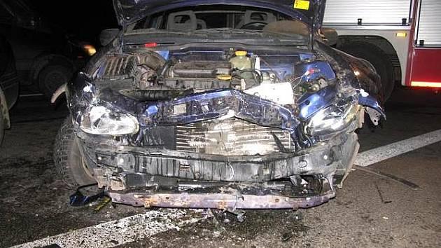 Při nehodě na silnici I/35 byli zraněni čtyři lidé. Ke kolizi došlo ve čtvrtek 18. listopadu u Moravské Třebové.