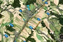 Ředitelství silnic a dálnic vypsalo tendr na obchvat Svitav.