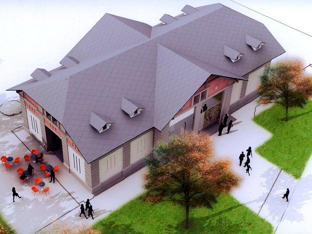 Hospodářskou budovu v parku Jana Palacha přebudují svitavští radní na novou kavárnu a informační centrum.