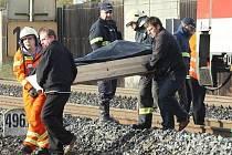 nehoda vlak