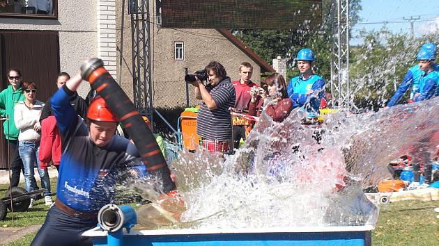 Nedělním závodem v Kamenci začala druhá polovina Svitavské ligy v požárním útoku.