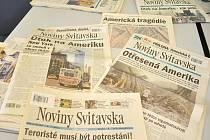 Před deseti lety náš Deník, který se tehdy ještě jmenoval Noviny Svitavska, věnoval zpravodajství z teroristického útoku na budovy Světového obchodníka centra v New Yorku denně několik stran. Nechyběly ani ohlasy několika lidí z regionu.