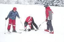 Jak jsme se učili lyžovat aneb pěkný týden v Čenkovicích