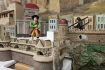 Obnova pohyblivého betlému ve svitavském muzeu.