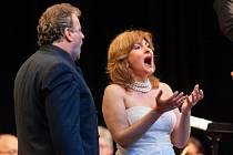 V nedělním večerním festivalovém galakoncertu Hvězdy operního nebe byl hlavním protagonistou světově proslulý italský tenor Marcello Giordani.