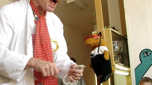 Ilustrační foto: Úsměv na dětských tvářích vyvolali zdravotní klauni v litomyšlské nemocnici.
